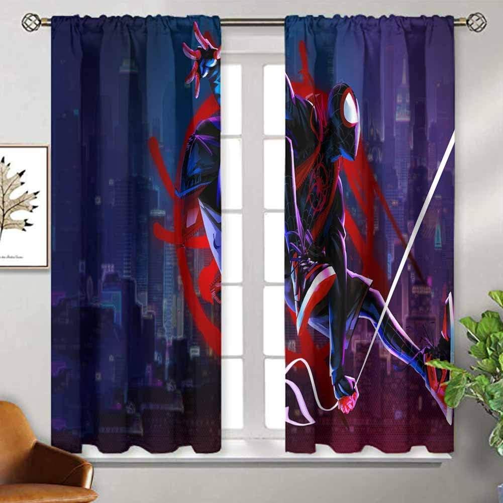ZhiHdecor Customized Curtains Avengers Endgame sq Indo Treatments for Short Indo