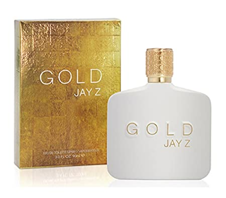 Jay-Z for Men Eau De Toilette Spray, Gold, 3 Ounce