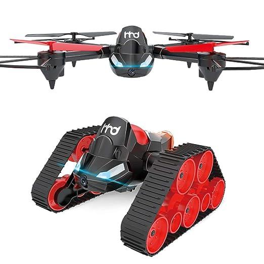 Koi Bricolaje Control Remoto de Quadcopter Anfibio terrestre y ...