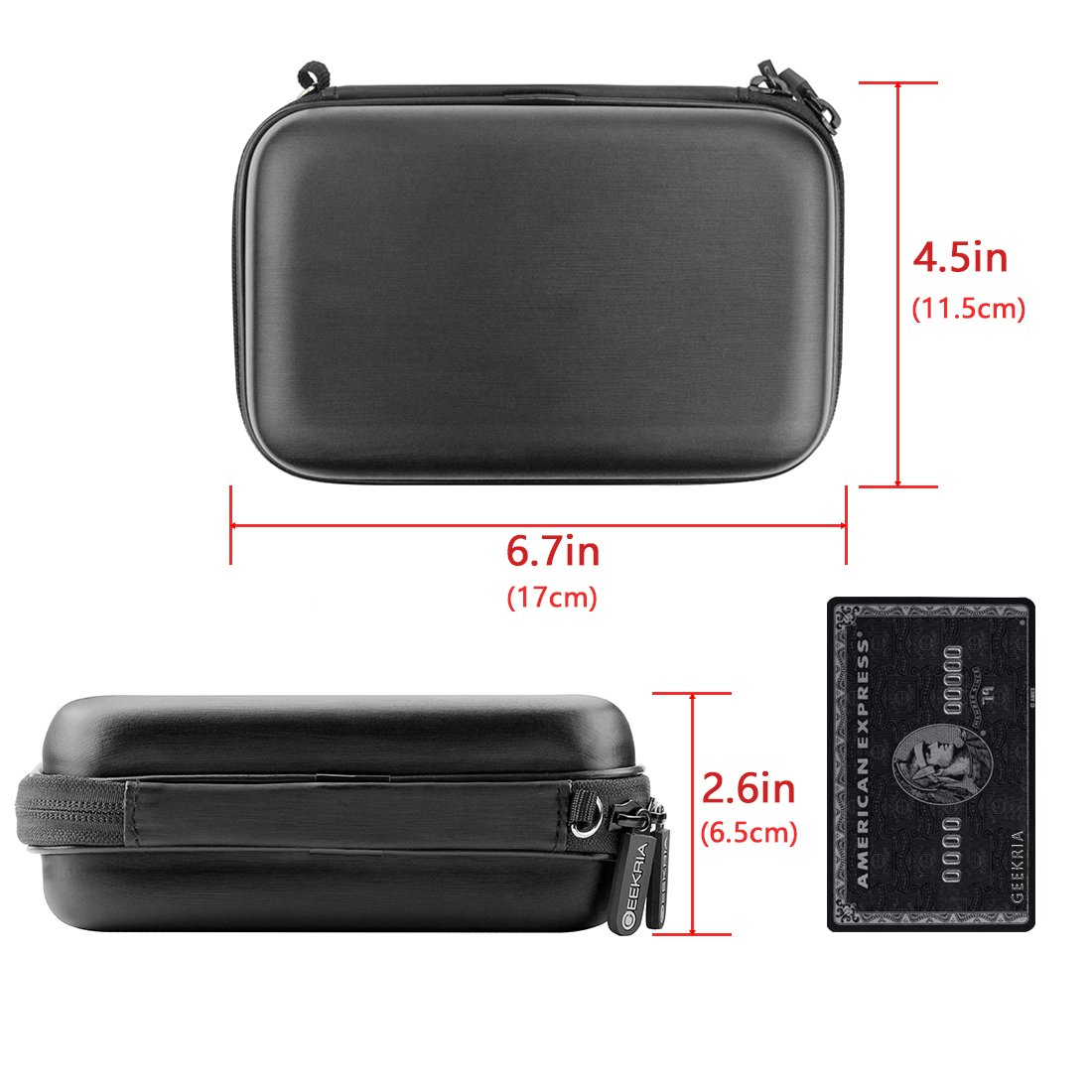Garmin dezl Changer GO XXL XL Keys Nuvi Geekria Hard Shell GPS Case for Garmin Drive LMT SMPJ32-01 Tomtom Via Black GPS Navigator Protective Travel Bag with Space for Cable Start
