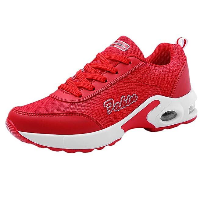 Zapatos de Cordones para Mujer,BBestseller Primavera Casual y Deportivo Malla Zapatillas de Running para Mujer Calzado Gimnasia Sneakers: Amazon.es: Ropa y ...