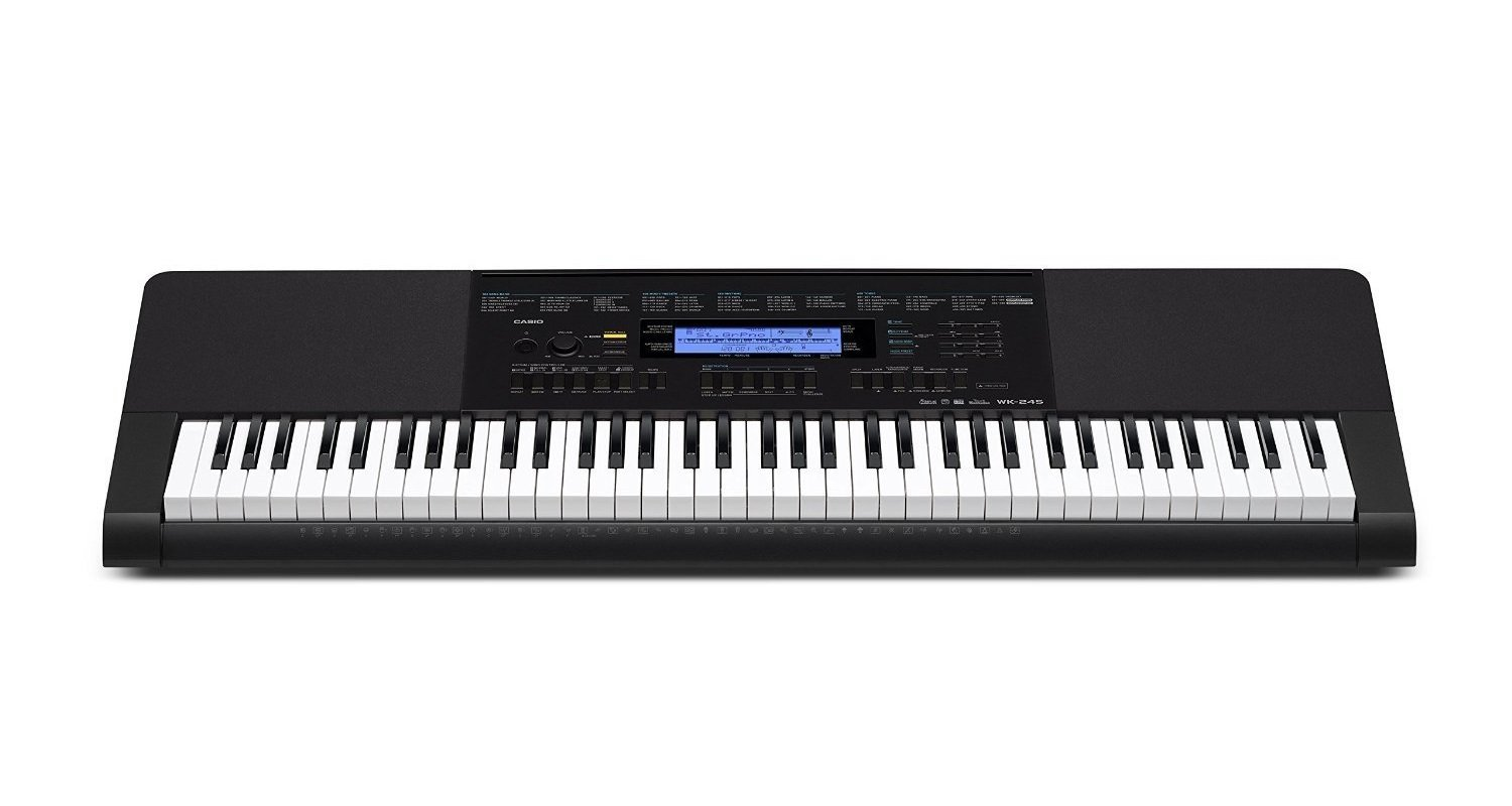 Casio WK-245 PPK 76-Key Premium Portable Keyboard Package with Headphones, Stand and Power Supply by Casio (Image #2)
