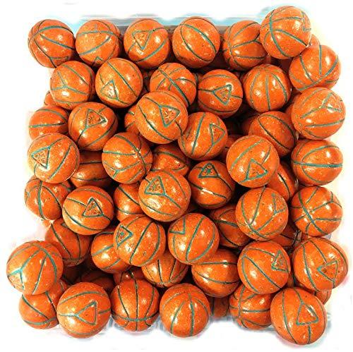 (Super Sports Balls Bubble Gum 2 Pounds Bulk Bag (BASKETBALL GUM)