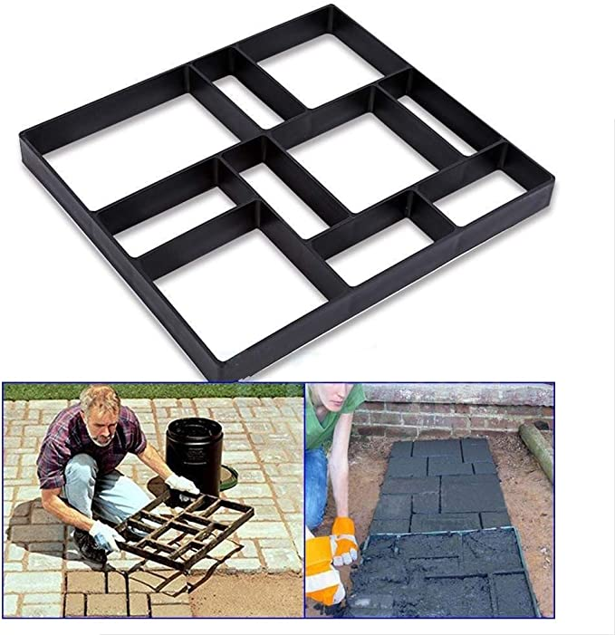 Fabricante de pasarelas DIY, (10 cuadrículas) Pavimento de ...