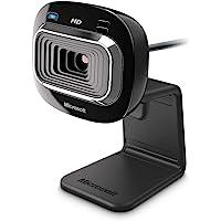 Microsoft T3H-00011 Cámara Web Lifecam HD-3000-30 pps, USB, Color Negro, 1280 x 720 Pixeles
