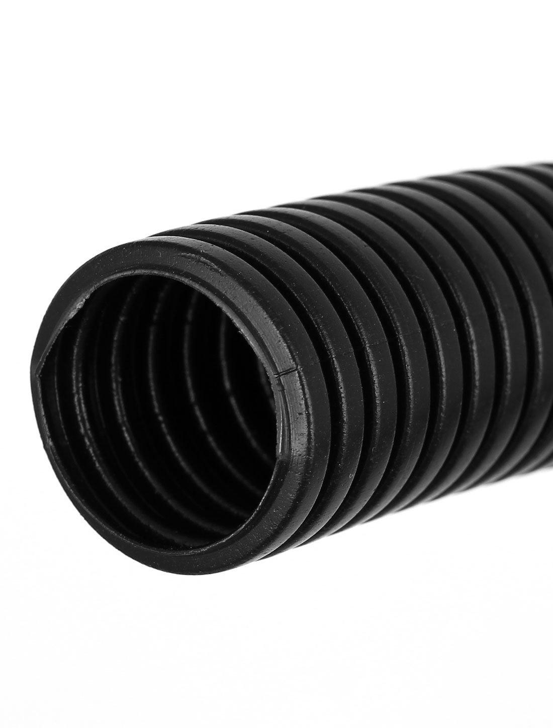 sourcingmap/® Tuyau ondul/é Flexible noir 2,9m long tube pour pompe bassin Filter