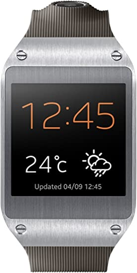 Samsung Galaxy Gear Smartwatch- Retail Packaging - Mocha Gray (Discontinued by Manufacturer)