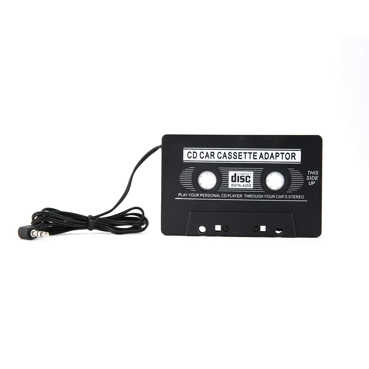 Liobaba Universal Audio Car Cassette Tape Adapter Transmitters Converter for MP3 CD MD DVD for Clear Sound Music