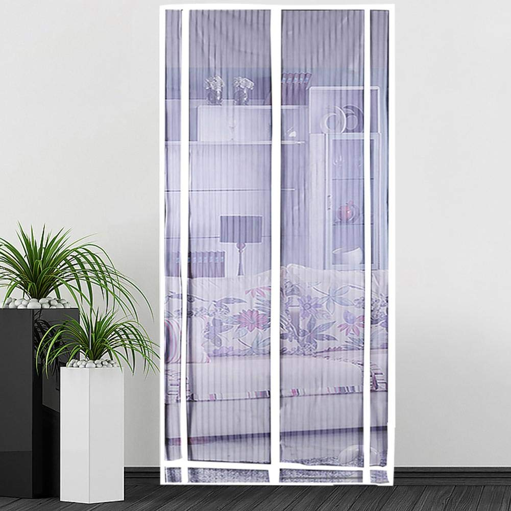 Heavy Duty mesh Door Screen Funarrow Magnetic Screen Door Fresh air in /& Keep Bugs Out