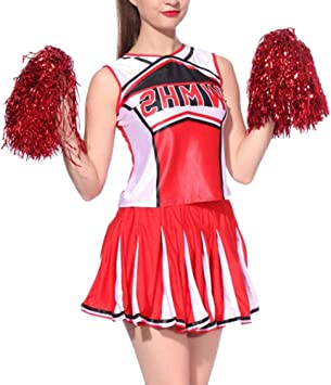 uirend Cheerleading Ropa Mujer Uniformes - Disfraz de Animadora ...