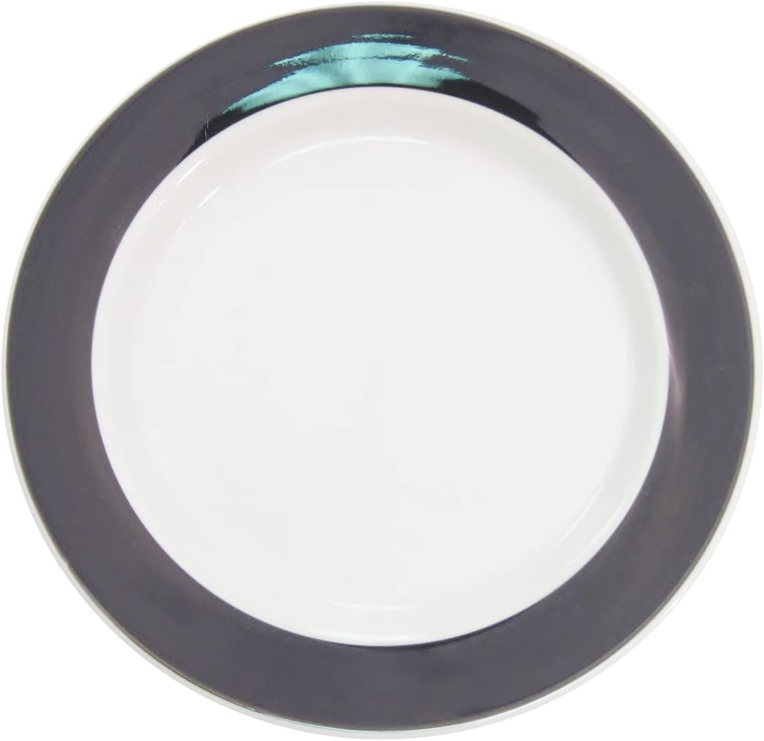 CAC China R-5-GREEN Rainbow Rolled Edge 5-1//2-Inch Green Stoneware Round Plate Box of 36