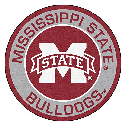 FANMATS 18623 Mississippi State University Roundel Mat