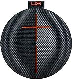 Ultimate Ears Bluetoothスピーカー UE ROLL ワイヤレス ポータブル対応 防水機能 (Volcanoブラック)WS600BK 国内正規品
