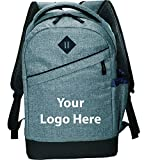 Graphite Slim 15'' Computer Backpack - 24 Quantity - $26.45 Each - PROMOTIONAL PRODUCT / BULK / BRANDED with YOUR LOGO / CUSTOMIZED