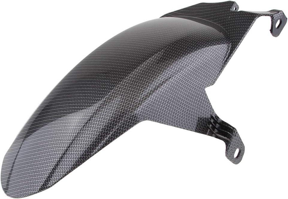 Gazechimp Motorcycle Replacement Kit Carbon Fiber Rear Wheel Fender Mud Flap Mudguard Mud Guard for Yamaha Xmax 250//Xmax 300 17-18