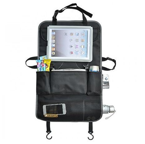 toleap Auto Sit zrück Organizador, extra large Multi de bolsillos de memoria iPad, aperitivos