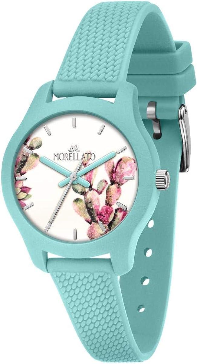 Morellato Reloj para Mujer, Colección Soft, en Poliuretano, Silicona, con Correa de Silicona - R0151163507