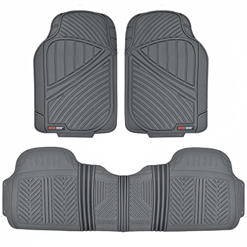 Motor Trend Flextough Baseline Heavy Duty Rubber Car Floor Mats