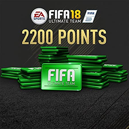 FIFA 18 - 2200 FIFA POINTS - PS4 [Digital Code]