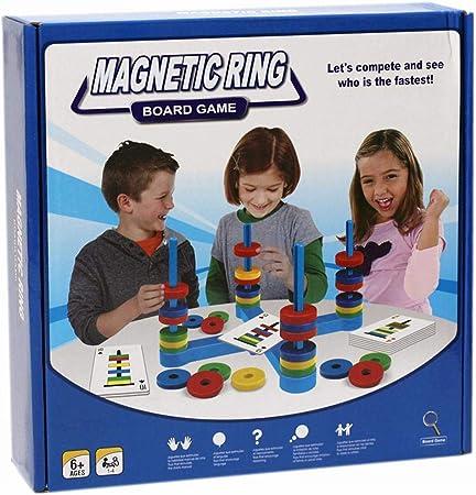 iYoung Divertido Juego de combinación magnética Juego de Mesa magnético Juego magnético para niños Juguete Educativo para niños pequeños: Amazon.es: Hogar
