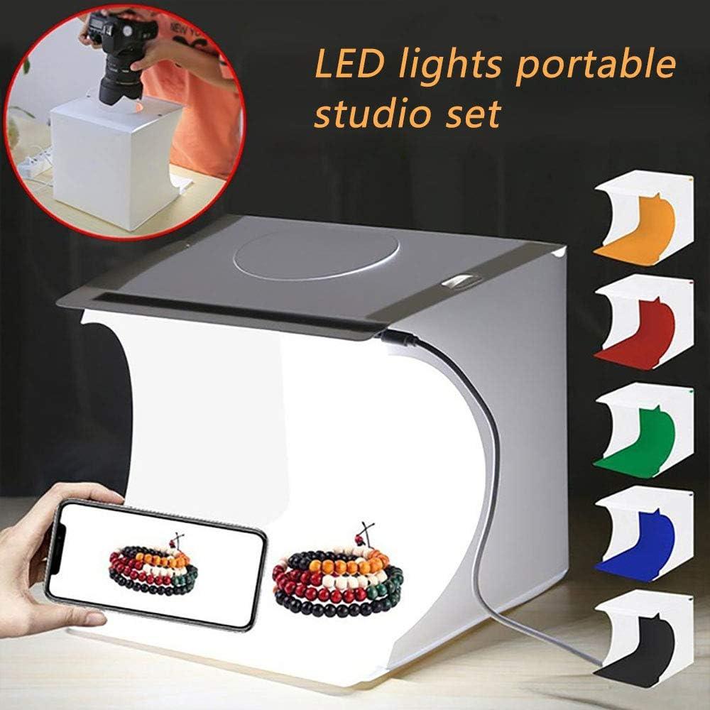 gaixample.org Light box Photography Portable Photo Studio Mini LED ...