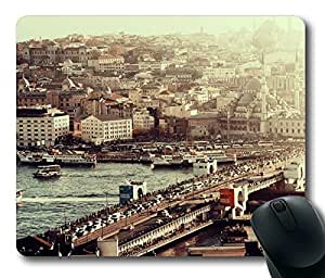 Istambul Bridge Masterpiece Limited Design Oblong Mouse Pad by Cases & Mousepads