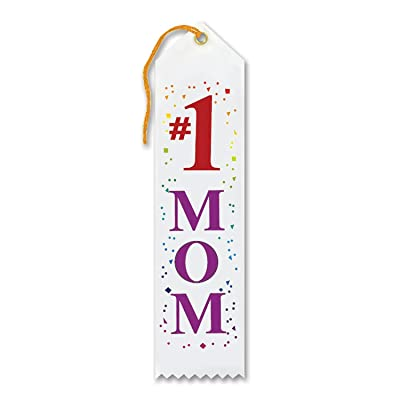 Beistle #1 Mom Award Ribbon: Toys & Games