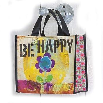 Juego de 3 bolsas de reciclaje de - Be Happy - tamaño ...