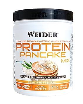 WEIDER Protein Pancake Coco-Chocolate Blanco 600 g: Amazon.es: Salud y cuidado personal