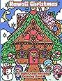 Kawaii Christmas: A Super Cute Holiday Coloring Book (Kawaii, Manga and Anime Coloring Books for Adults, Teens and Tweens) (Volume 6)