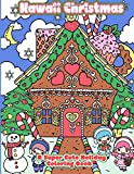 Kawaii Christmas: A Super Cute Holiday Coloring Book: Volume 6 (Kawaii, Manga and Anime Coloring Books for Adults, Teens and Tweens)