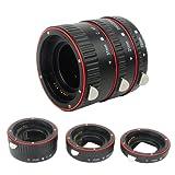 PIXEL Plastic electronic AF Macro extension tube Auto Focus AF Macro lens Extension Tube Ring with Covers for Canon EF EF-S Lens DSLR Camera