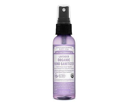 Dr. Bronner s - Spray désinfectant pour les mains à la lavende 60 ml ... 0d2bc9583d3