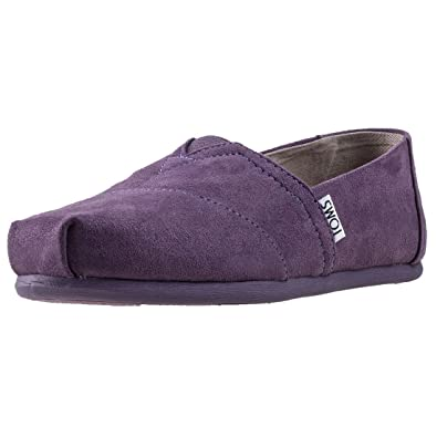 71807b90281 TOMS Women s Classic Black Plum Casual Shoe ...