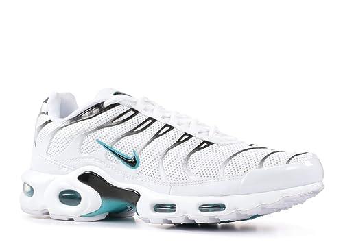 ab7e87d572 Nike AIR MAX Plus - 852630-106 - Size 11.5 White, Black - Turquoise