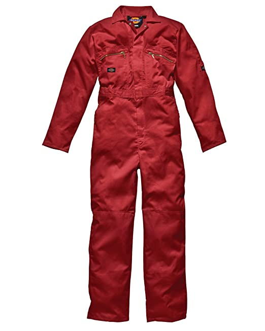 Overall Redhawk Overall mit Reißverschluss-Front Grey Dickies Coverall