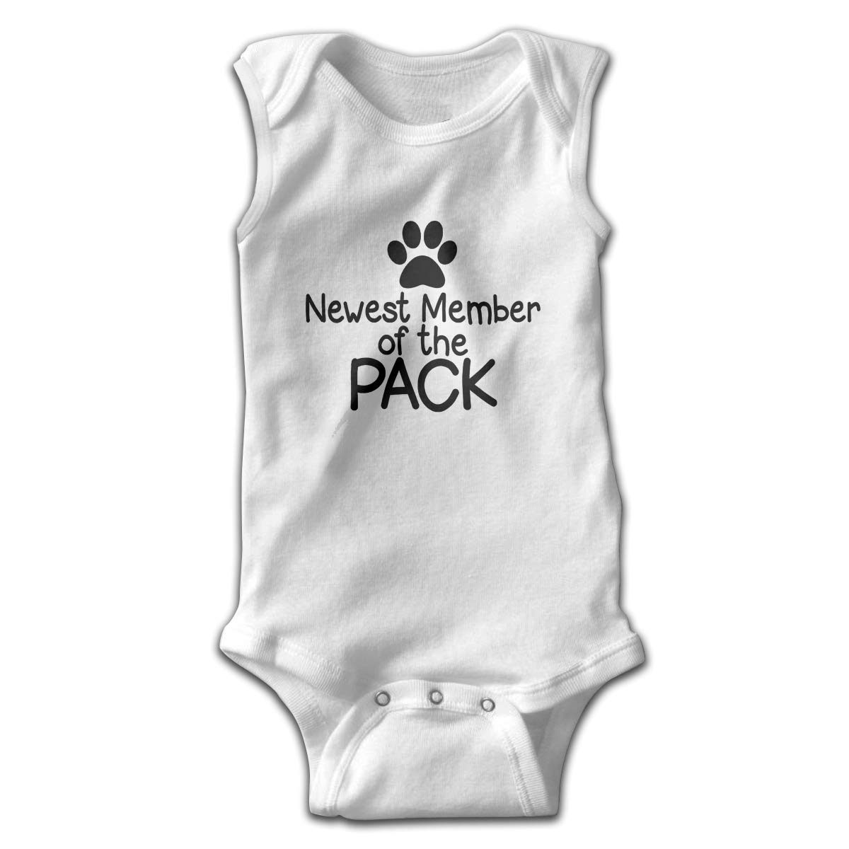 Newest Member Pack Toddler Baby Clothes Layette Sleeveless Summer Novelty Funny Gift for Baby