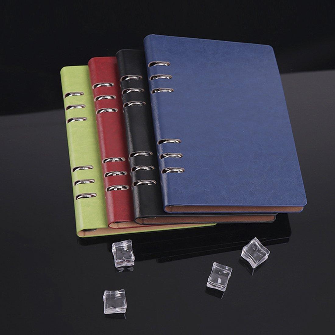color marr/ón De tama/ño A5 de 208 x 142 mm y 80 hojas de 80 g//m/². Cuaderno de tapa dura DIFLY