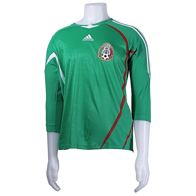 18adde88b92 Amazon.com   Adidas Mexico 2007-09 Home Jersey - Youth (S)   Sports ...