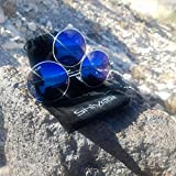 Third Eye Sunglasses by Shivas Includes Free Case. Prince Tribute And EDC Style