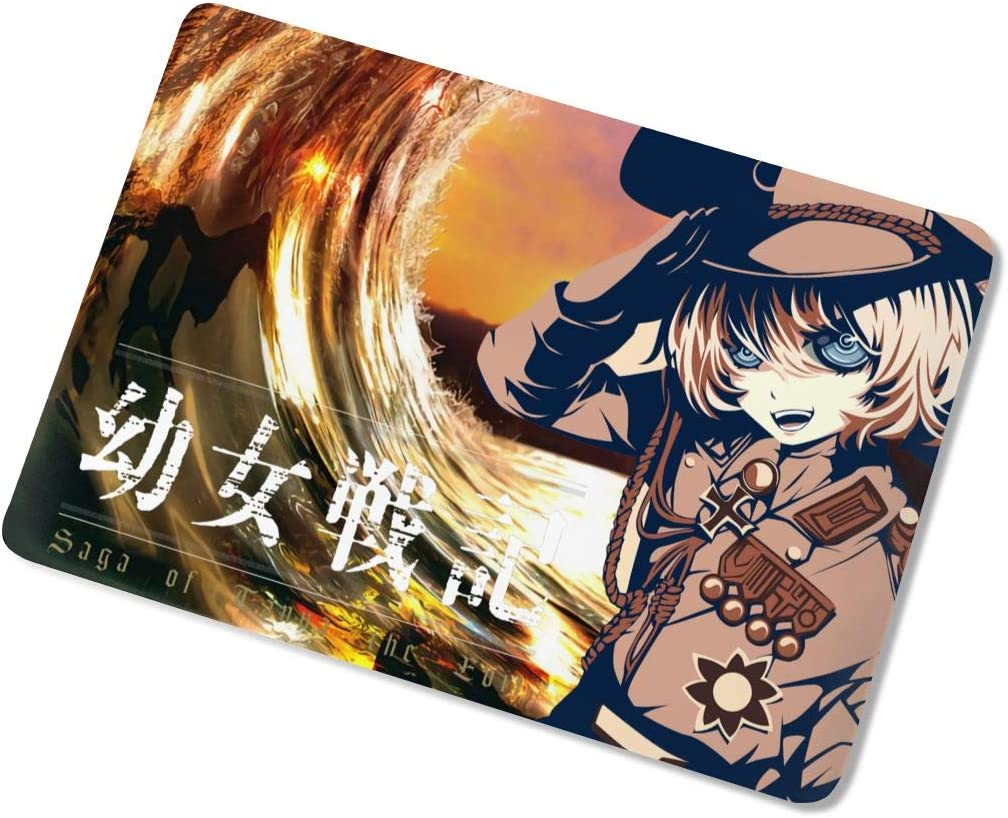 Saga of Tanya The Evil MacBook Case,Scratch Resistant Anti Static Laptop Hard Shell Cover Protective Case Release A1466 A1369 A1932 A1990 for Apple MacBook air13