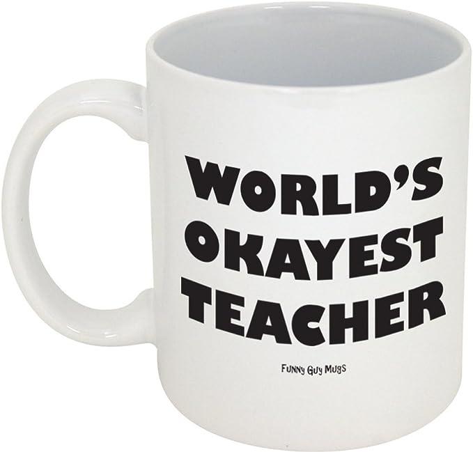 CafePress World/'s Okayest Teacher Pullover Hoodie 195486126