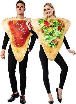 Eraspooky Deguisement Nourriture Fete D Halloween Costume Drole Pour Hommes Femmes Couple Adulte Amazon Fr Jeux Et Jouets