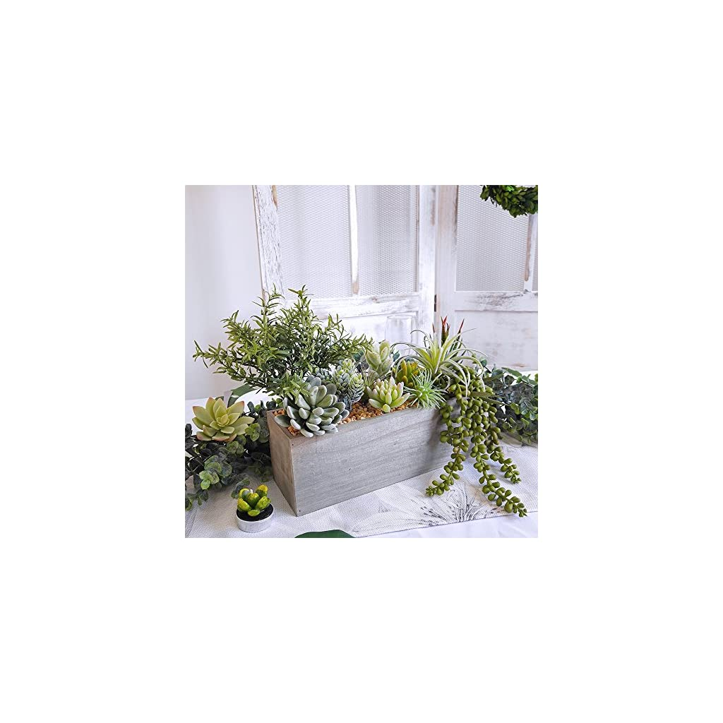 besttoyhome-4-Pcs-Artificial-Rosemary-Plants-Fake-Rosemary-Greenery-Leaves-Bushes-Evergreen-Shrubs-Spray-in-Green-985-Tall-UV-Protected-Fake-Shrubs-Grass-for-Indoor-Outdoor-Greenery-Decor