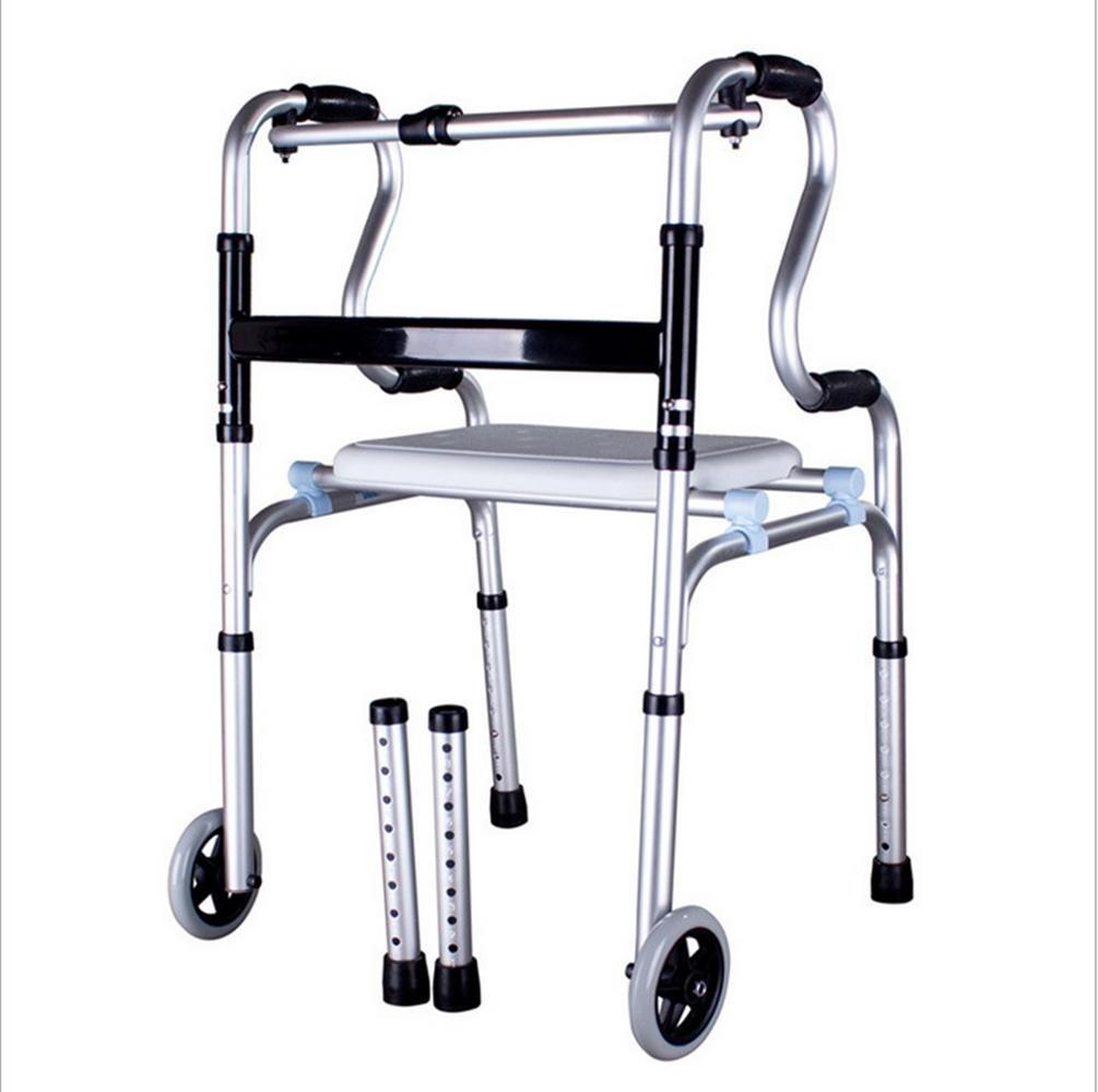 JR RJ Andador Plegable, Equipo de Ancianos Ayudar a Caminar ...