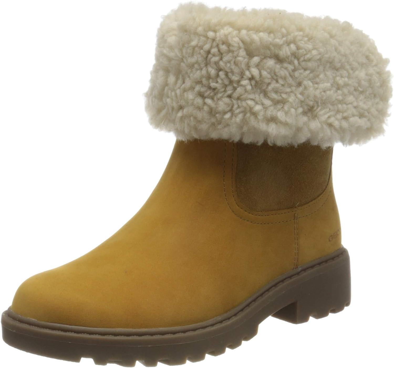Geox M/ädchen J Casey Girl WPF C Ankle Boot