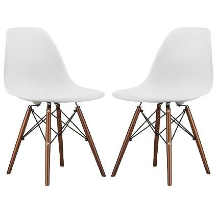 Nicer FurnitureR Set Of Two 2 White