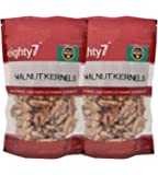 Eighty7 California Walnut Kernel - Pack of 2(180 GMS Each), 360g