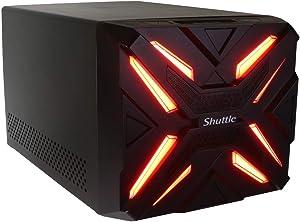 Shuttle Gaming Computer Desktop PC Intel i5-6500 3.2GHz Quad Core | GTX 1050 Ti 4GB | 8GB DDR4 2400MHZ | 480GB SSD | WiFi | Windows 10 Home 64-bit (i5-6500 | GTX 1050)
