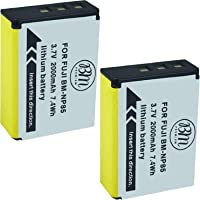 BM Premium 2-Pack of NP-85 Batteries for Fujifilm FinePix S1 SL240 SL260 SL280 SL300 SL305 SL1000 Digital Camera